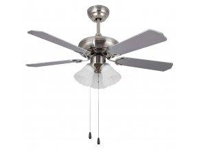 Sulion 072822 SKUA, bílá a šedá, stropní ventilátor se světlem