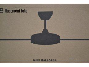 FARO 33604 MINI MALLORCA, šedý a černý, stropní ventilátor  ovládání dálkové