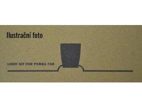 Světelný kit FARO 33491K šedý pro stropní ventilátor FARO 33491 Pemba