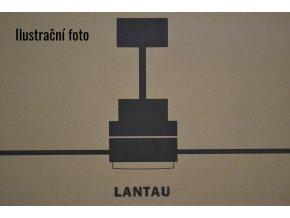 Stropní ventilátor FARO 33505 LANTAU-G světlý ořech, se světlem