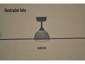 Stropní ventilátor FARO 33341 GRID hnědý