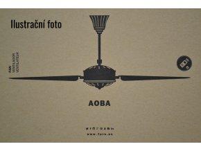 FARO 33349 AOBA, tmavě hnědý, stropní ventilátor