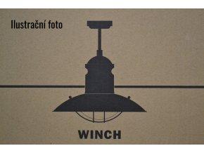 FARO 33396 WINCH, tmavě hnědý, stropní ventilátor se světlem  ovládání dálkové