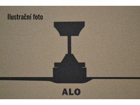 Stropní ventilátor se světlem FARO 33719 ALO hnědý