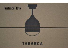 FARO 33752 TABARCA, bílý/hnědý, stropní ventilátor se světlem