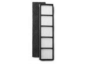 Sada filtrů pro čističku vzduchu s ionizátorem Clean Air Optima CA-506 (HEPA, předfiltr s aktivním uhlíkem)