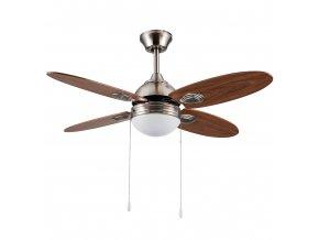 Sulion 072805 IZU, hnědý, stropní ventilátor se světlem
