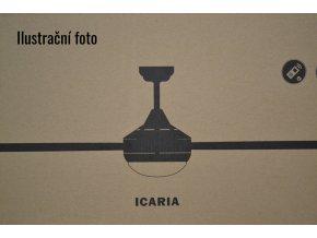 FARO 33701 ICARIA, šedý a javor, stropní ventilátor se světlem  dálkové ovládání