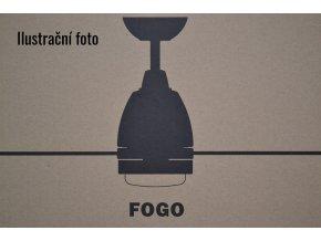 Stropní ventilátor s LED světlem FARO 33467 FOGO bílý