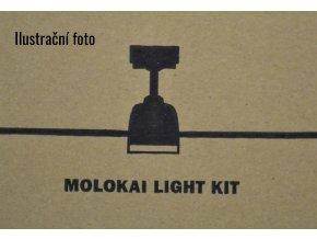 Světelný kit FARO 33476 matný nikl pro stropní ventilátor FARO 33475 MOLOKAI