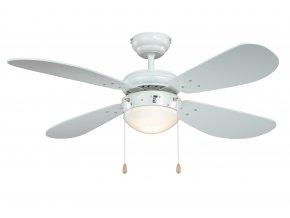 Stropní ventilátor se světlem AireRyder FN43311 Classic bílý