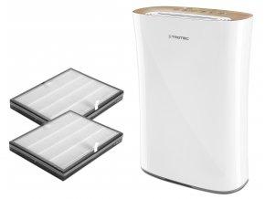 Set čističky vzduchu Trotec AirgoClean 110 E se dvěma HEPA filtry (H13) a aktivním uhlíkem