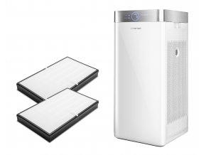 Set čističky vzduchu Trotec AirgoClean 200 E se dvěma HEPA filtry (H13) s aktivním uhlíkem