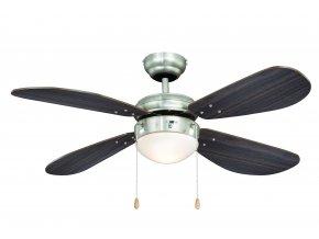 Stropní ventilátor AireRyder FN43336 Classic ořech/saténový nikl