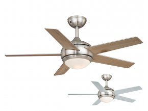 Stropní ventilátor AireRyder FN52238 FRESCO borovice nebo stříbrný/saténový nikl, oboustranné lopatky