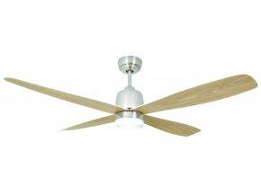 Stropní ventilátor se světlem AireRyder FN74439 Stratus javor/saténový nikl