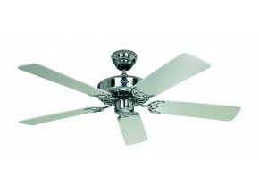 Stropní ventilátor CasaFan Classic Royal bílý/saténový chrom