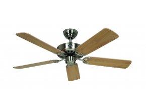Stropní ventilátor CasaFan 510315 CLASSIC ROYAL buk/saténový chrom