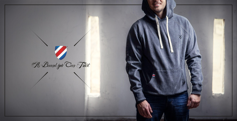 Street hoodie mikina grey - banner