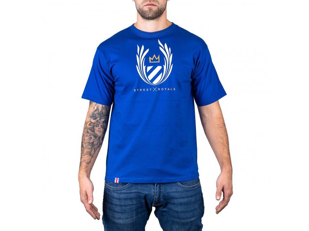 Street Royal Blue triko front
