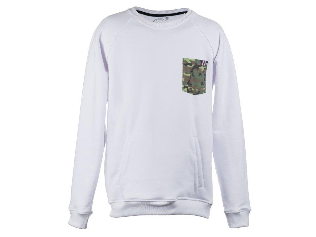 White G Sweatshirt front