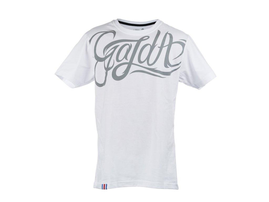 White T Gazda U Neck from