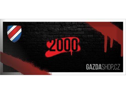 Dárkový Poukaz 2000