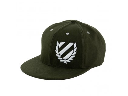 Snapback III Forest Green front