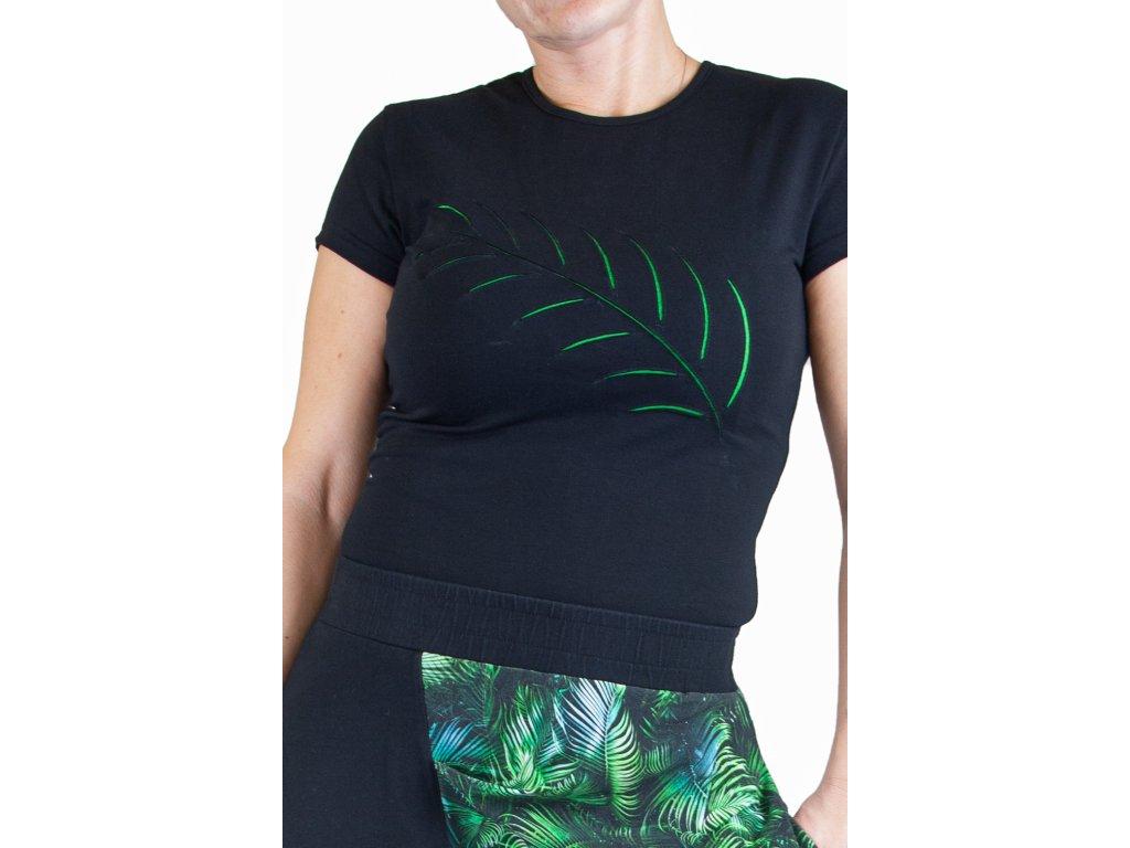 Tričko s krátkým rukávem palma