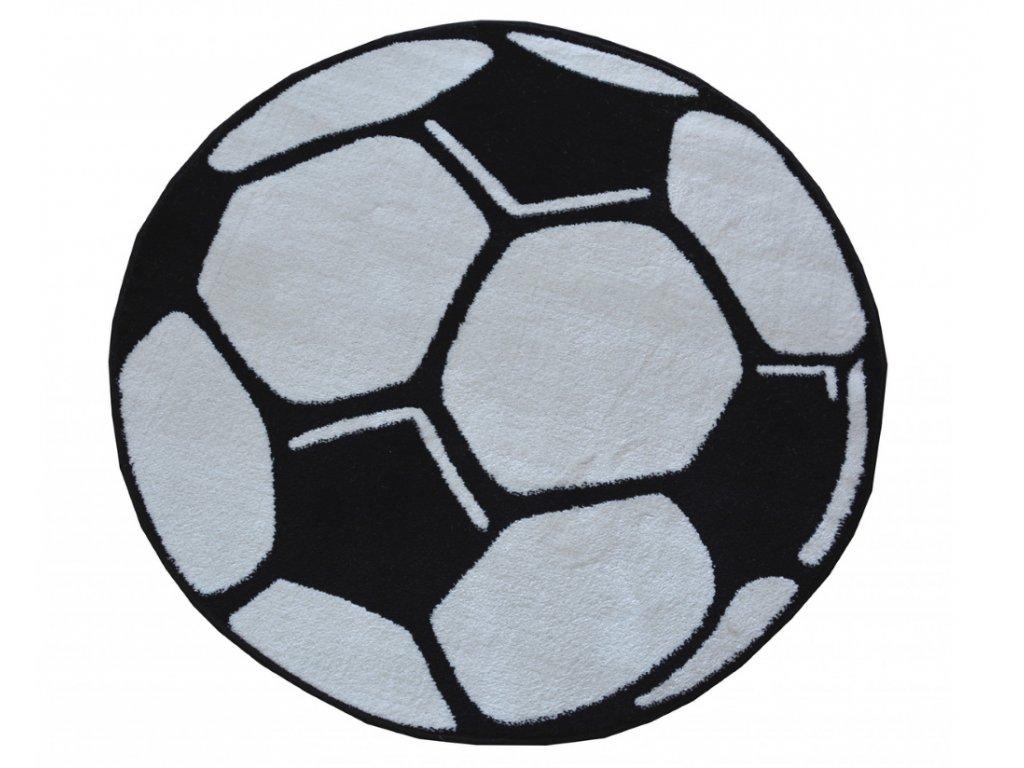 detsky kulaty koberec KIDS fotbalovy mic 1