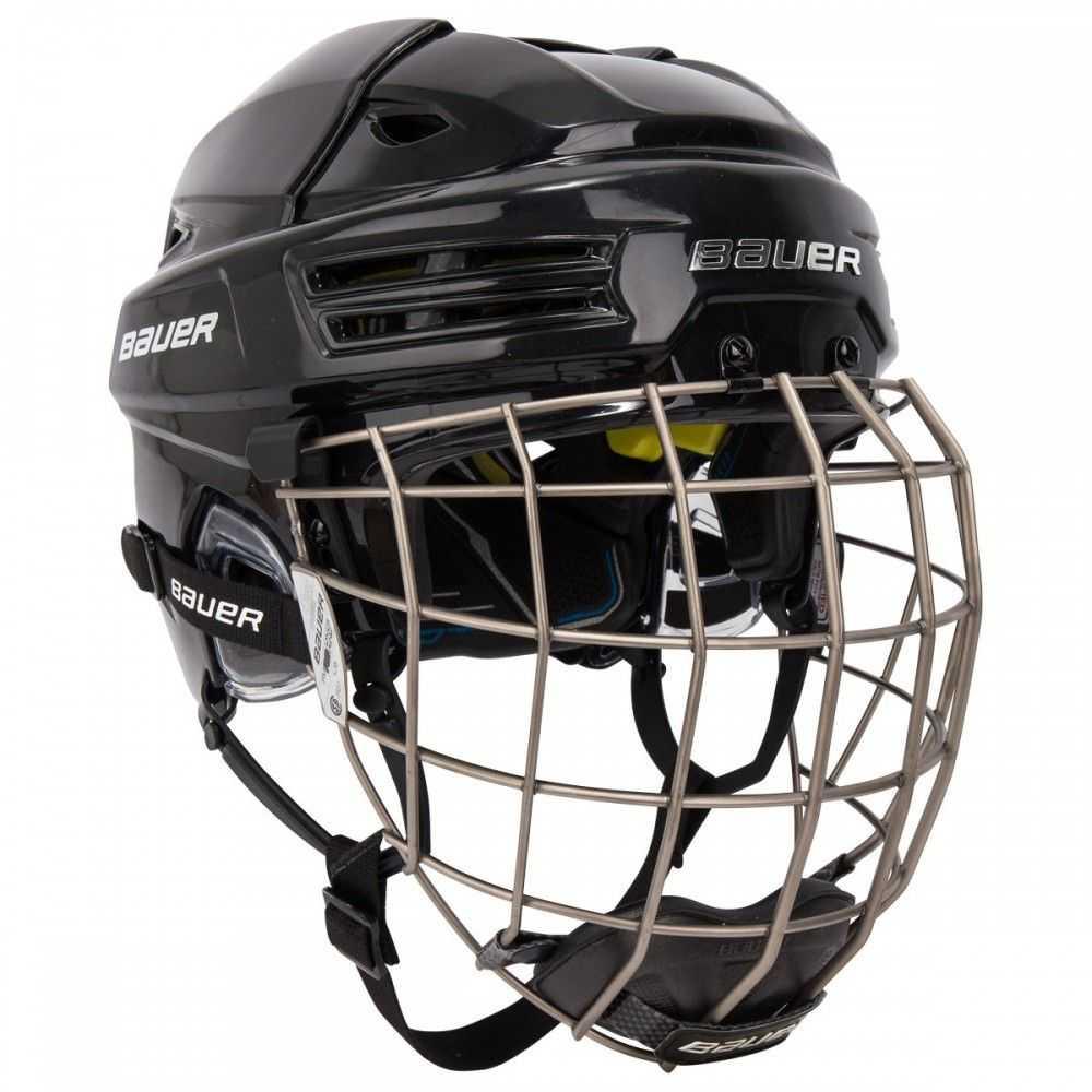 Hokejové helmy s mřížkou