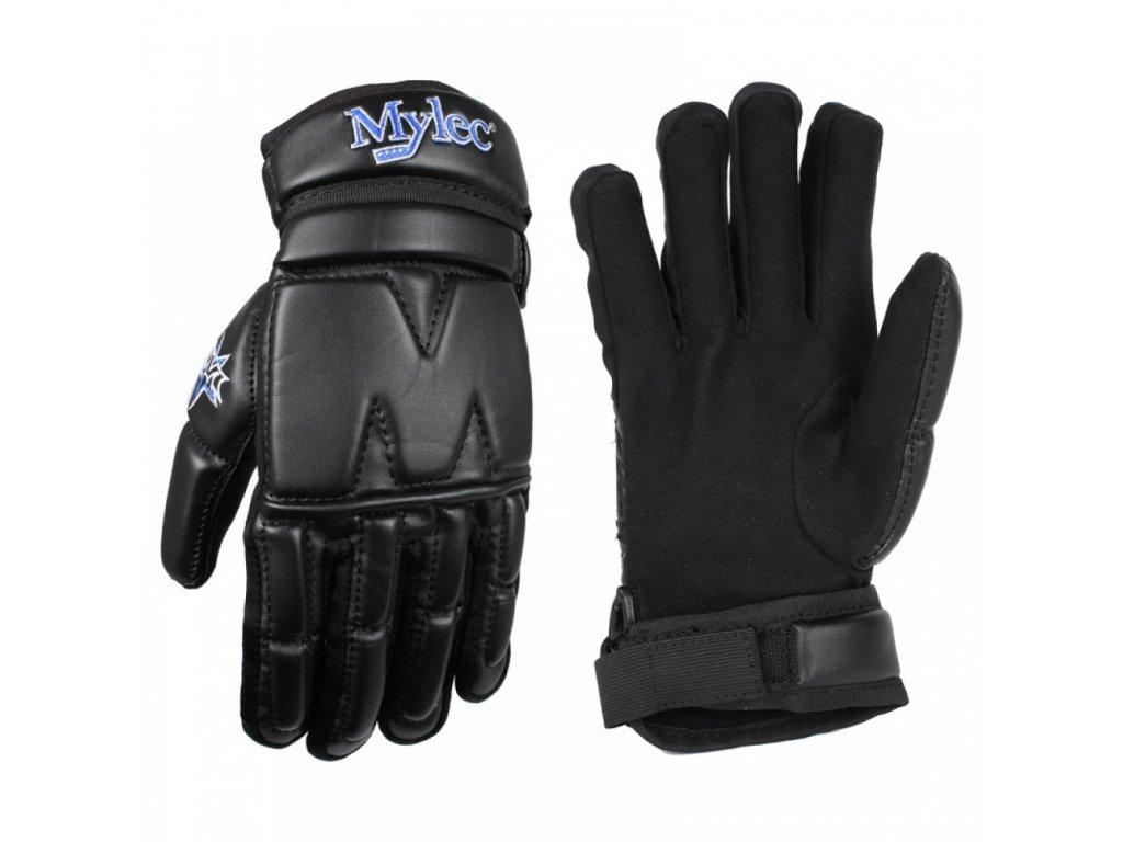 Hokejbalové rukavice Mylec Elite Street Black