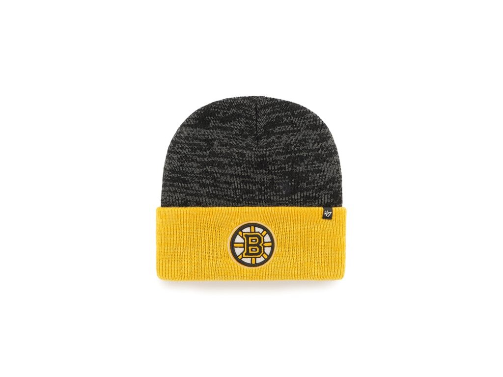 NHL Boston Bruins Two Tone Brain Freeze '47 CUFF KNIT