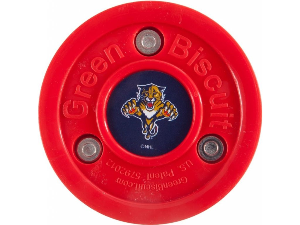 Puk Green Biscuit NHL Florida Panthers