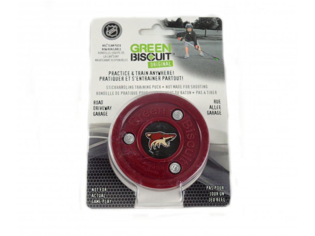 Puk Green Biscuit NHL Arizona Coyotes