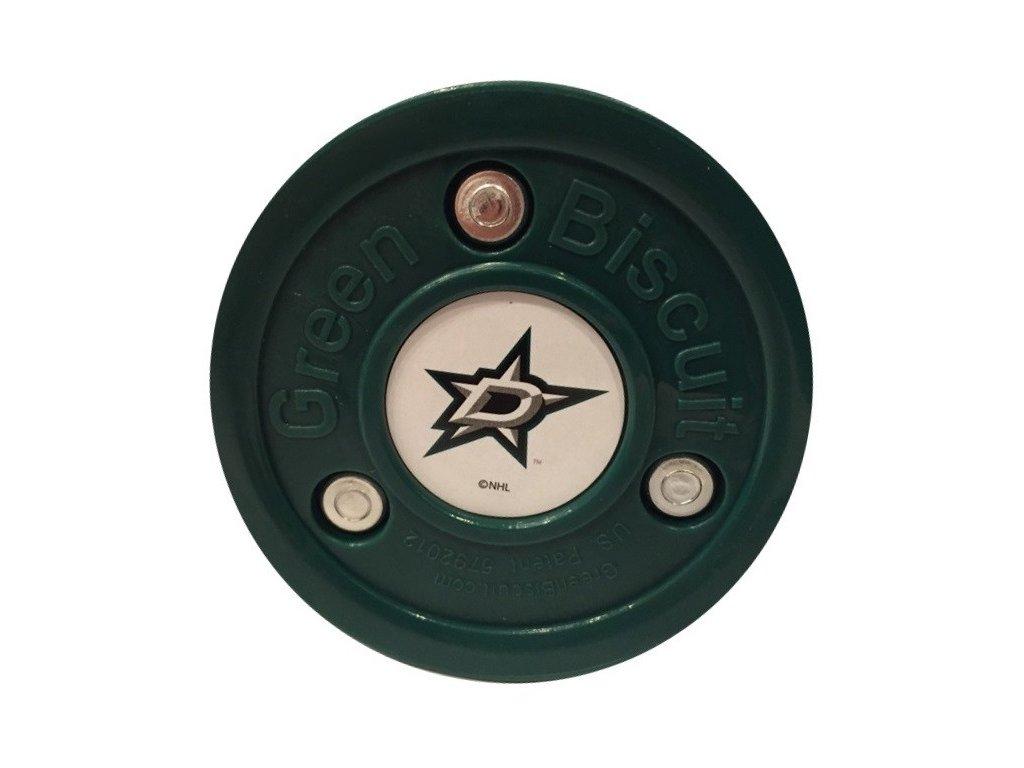 Puk Green Biscuit NHL Dallas Stars