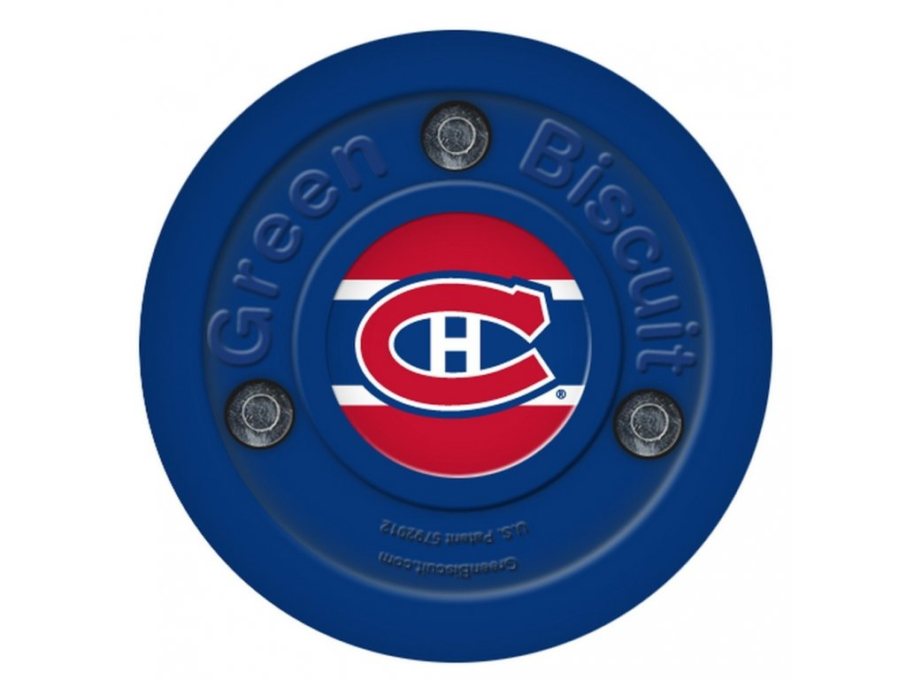 Puk Green Biscuit NHL Montreal Canadiens