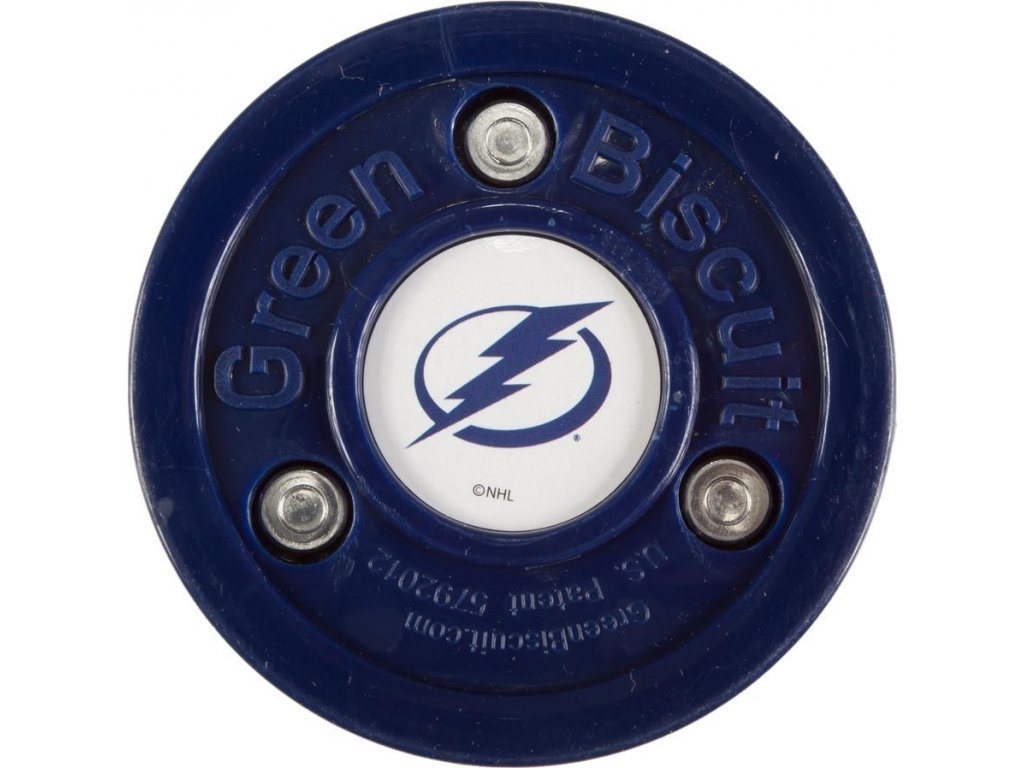 Puk Green Biscuit NHL Tampa Bay Lightning