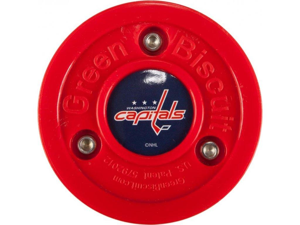 Puk Green Biscuit NHL Washington Capitals