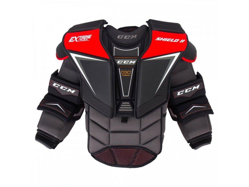 ccm goalie chest protector extreme flex shield 2 sr