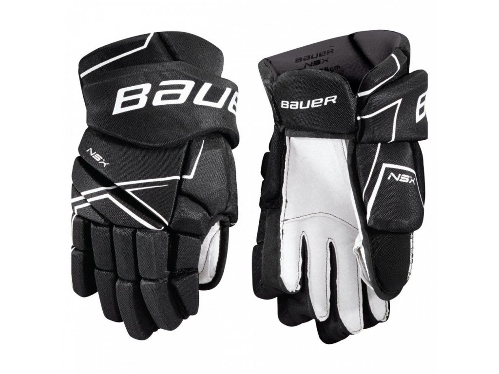 bauer hockey gloves nsx sr
