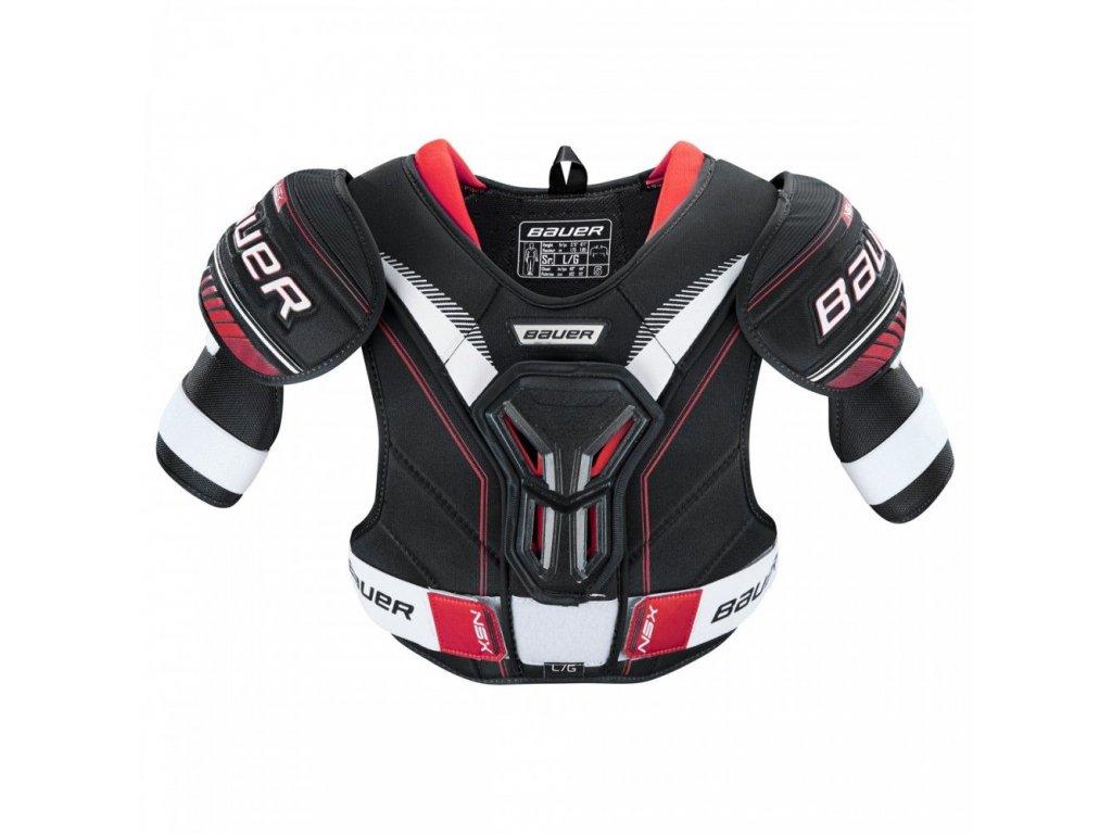 bauer hockey shoulder pads nsx sr
