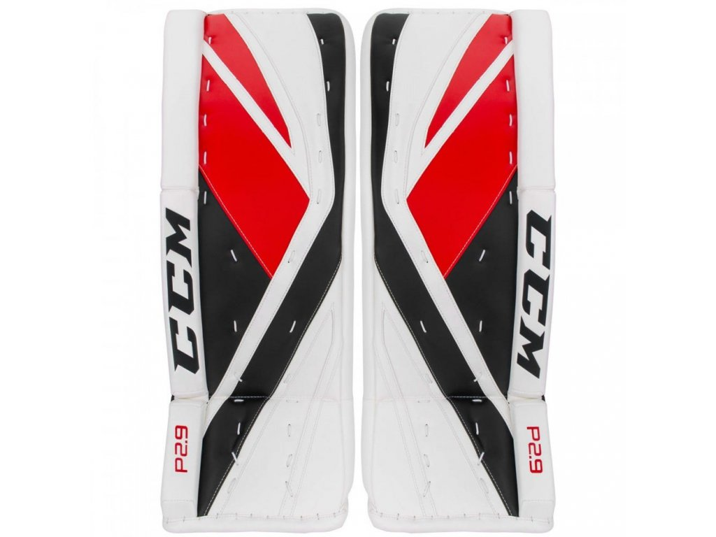 ccm goalie leg pads premier 2 9 sr