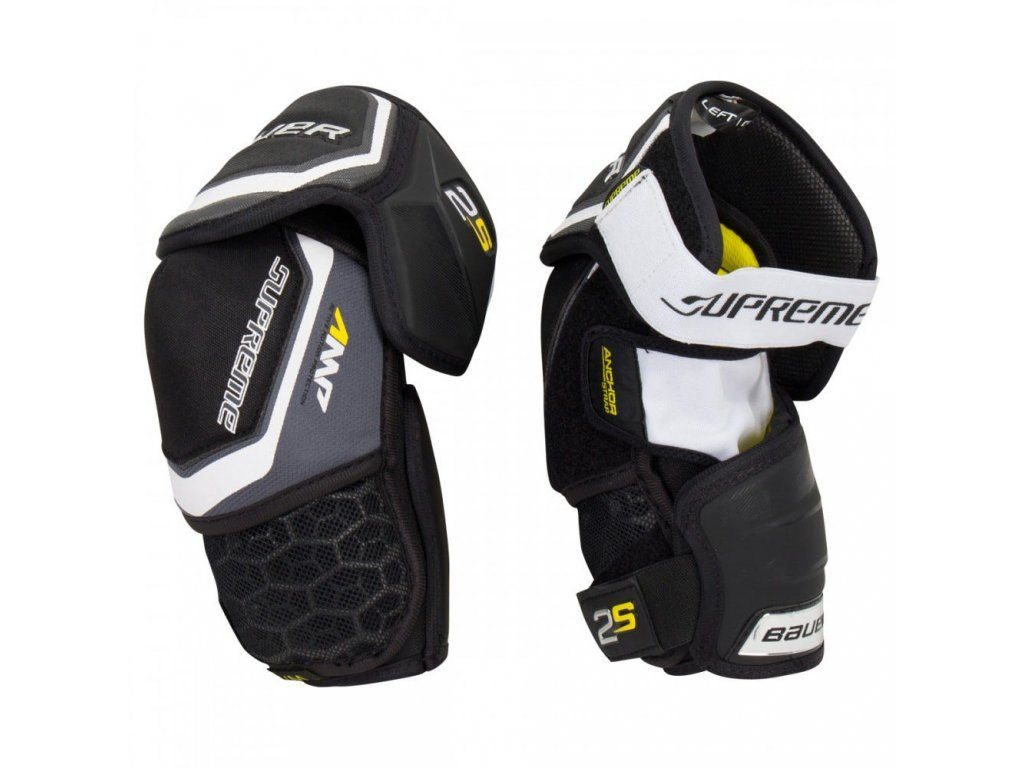 bauer hockey elbow pads supreme 2s sr