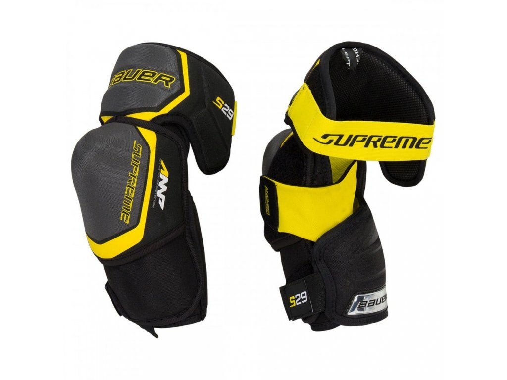 bauer hockey elbow pads supreme s29 sr