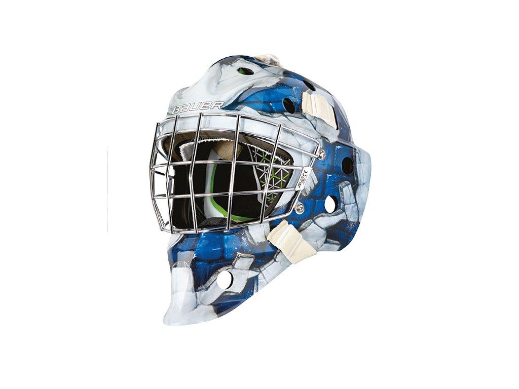 Maska G.BAUER NME4 S 17 SR WALL BLUE