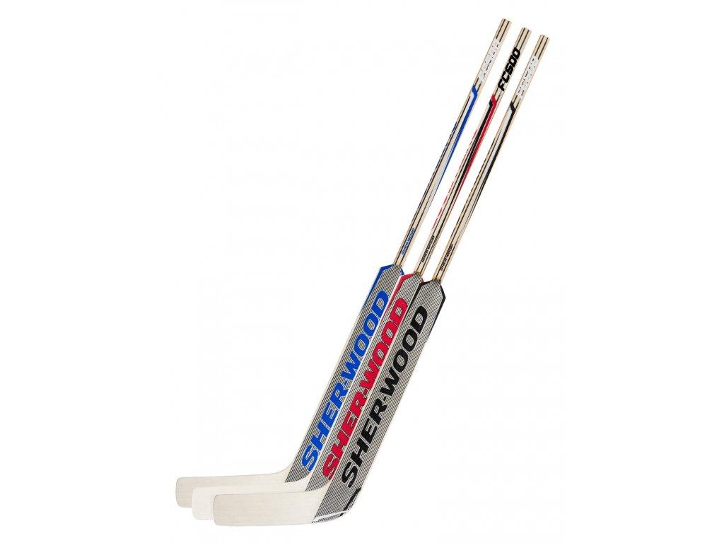 Brankářská hokejka Sher-Wood FC500 JR