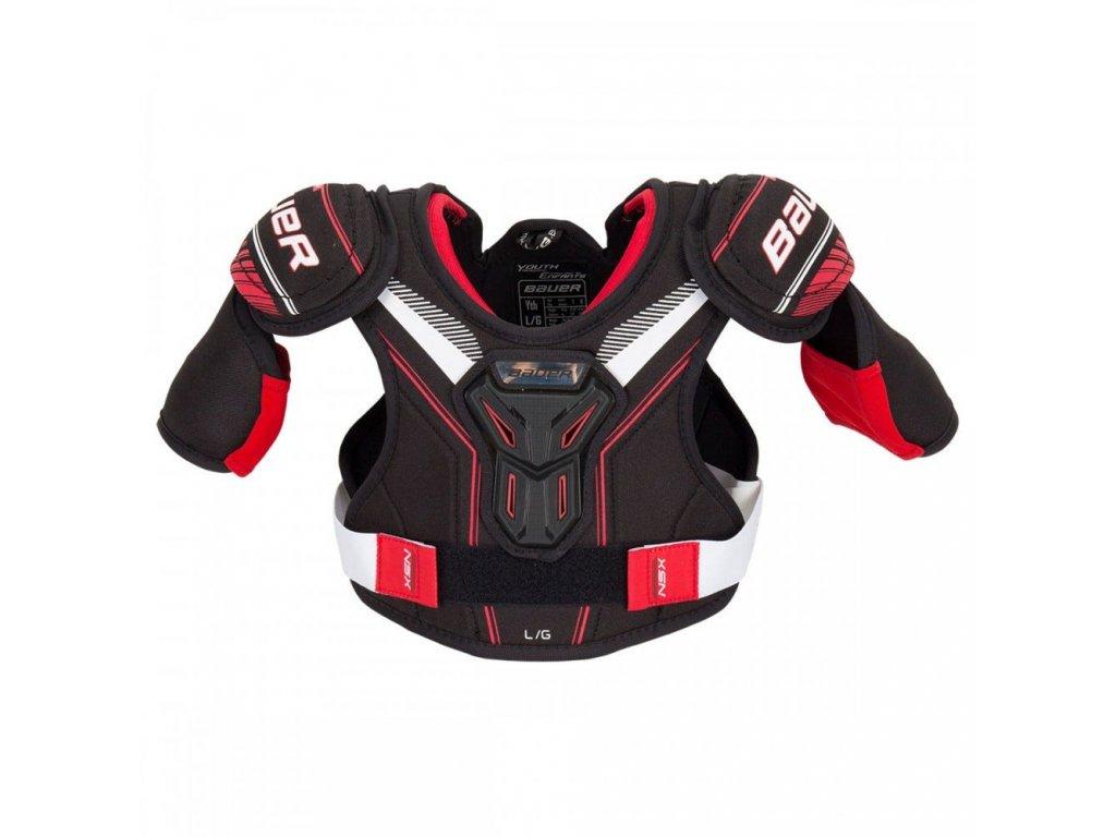 bauer hockey shoulder pads nsx yth
