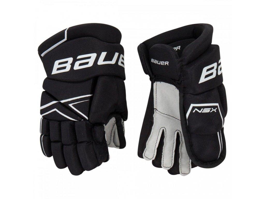 bauer hockey gloves nsx yth