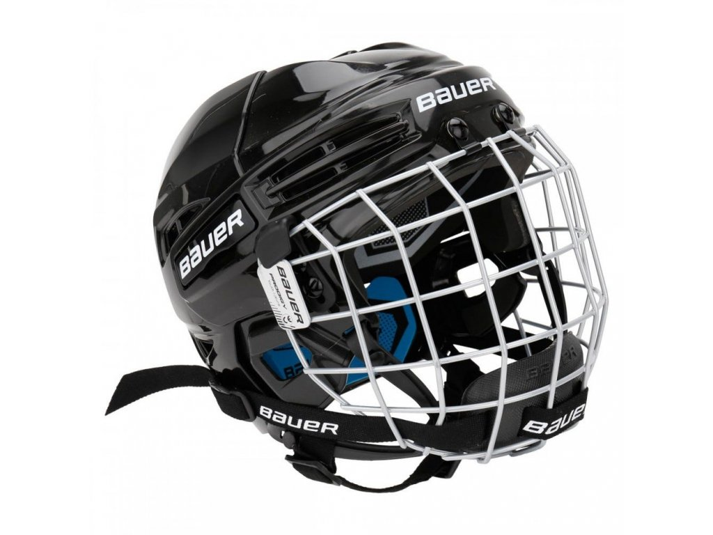bauer hockey helmet prodigy combo yth